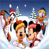 Disney Mickey Mouse Christmas Jigsaw Puzzle