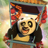 Kung Fu Panda World Fireworks Cart Racing
