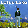 Lake Fishing Lotus Lake